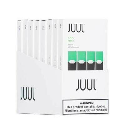 Authentic Juul 8 pack - 32 Pods Total