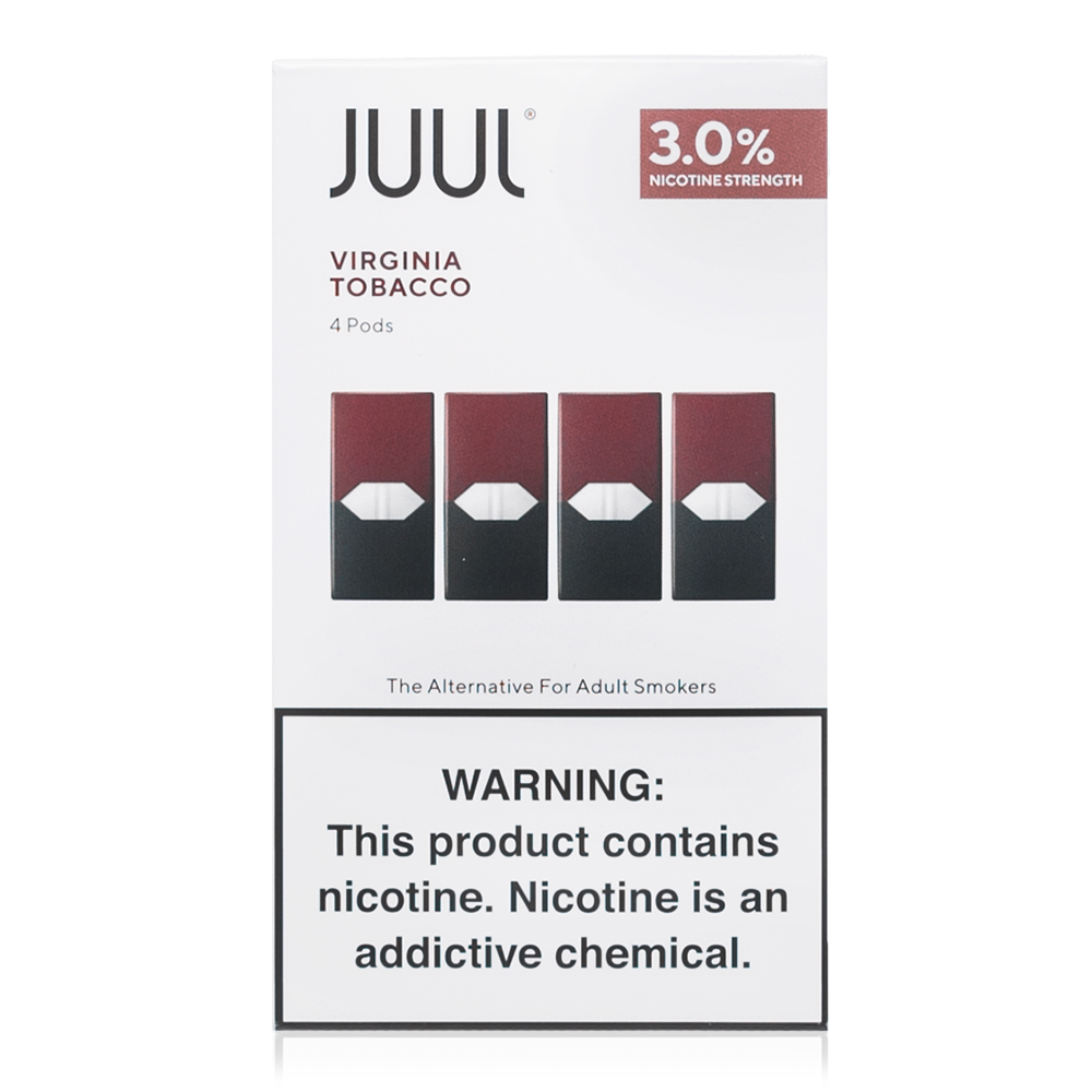 AUTHENTIC JUUL PODS 3%