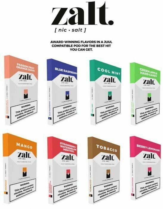 Zalt Pods | Juul Compatible