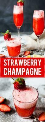 Strawberry Champagne