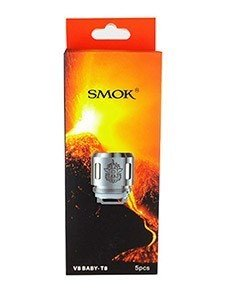 SMOK TFV8 BABY TANK REPLACEMENT COILS - PACK OF 5