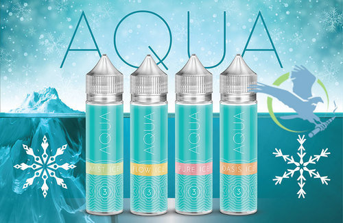 AQUA ICE E-LIQUID 60ML