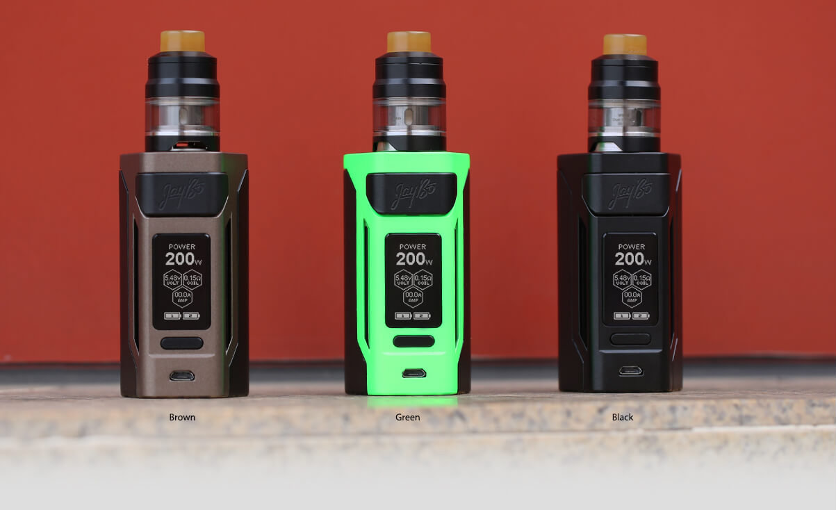 WISMEC REULEAUX RX2 20700 - 200W STARTER KIT WITH 4ML GNOME TANK