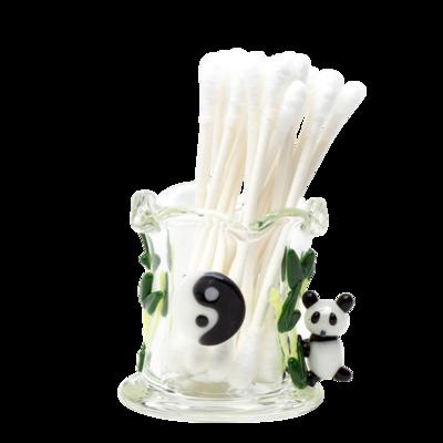 Q-Tip Holder - Climbing Pandas