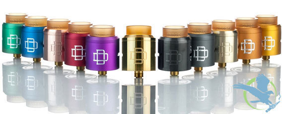 AUGVAPE DRUGA RDA 24MM WITH SNAP CLAMP SYSTEM