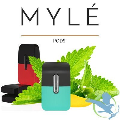 MYLE REPLACEMENT 0.9ML PODS - PACK OF 4