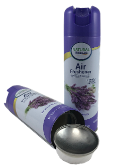 Air Freshener aerosol spray bottle
