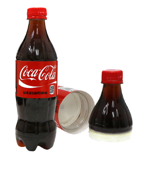 Coca Cola Bottle Safe Can 16.9oz.