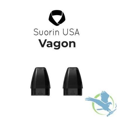 SUORIN VAGON 2.5ML REFILLABLE REPLACEMENT POD CARTRIDGES - PACK OF 2