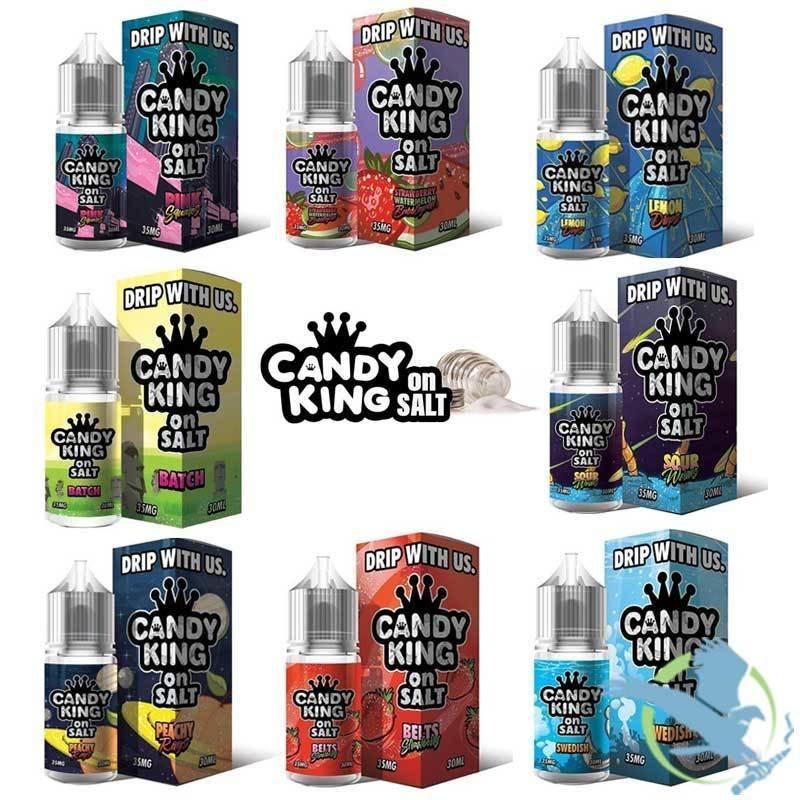 CANDY KING ON SALT NICOTINE SALT E-LIQUID 30ML
