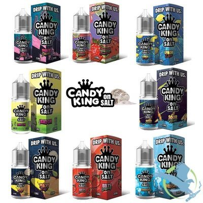 CANDY KING ON SALT NICOTINE SALT E-LIQUID 30ML