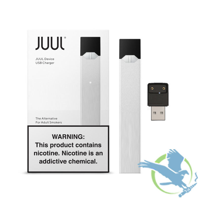 JUUL LIMITED EDITION BASIC KIT IN SILVER