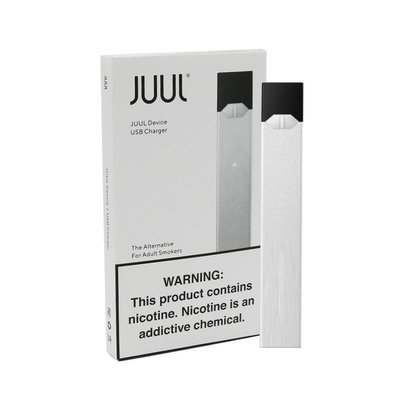 JUUL BASIC KIT (DEVICE AND CHARGER) - Limited Edition - SILVER