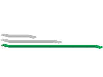 Zometool Streben/Struts Green G2