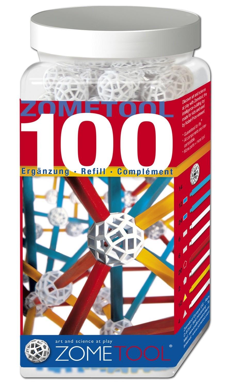 Zometool 100 Nachfüllpackung, D-E-F