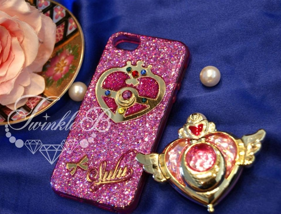 best website e8411 4d40c Customized Unique Sailor Moon Crystal Brooch Mobile Cellphone Case! All  Phone Model available!