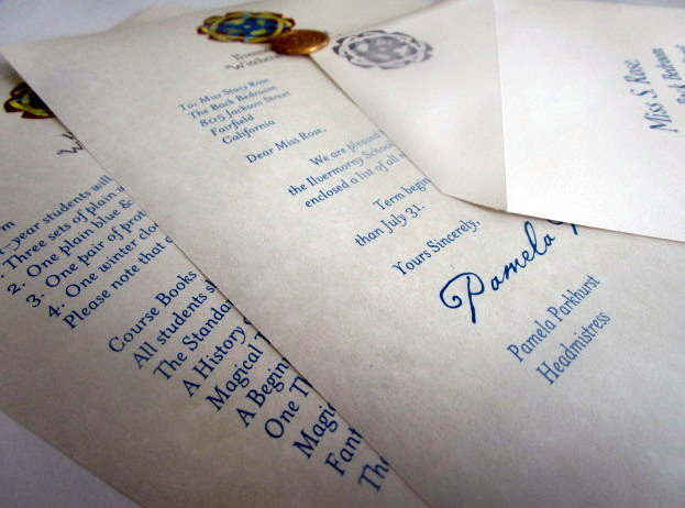 Harry Potter Ilvermorny Acceptance Letter Personalized