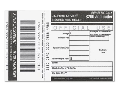 Z - USPS insurance for item totals up to $200