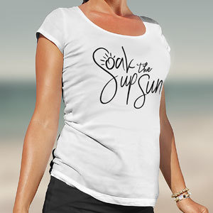 Ladies' Soak Up the Sun T-shirt 00003
