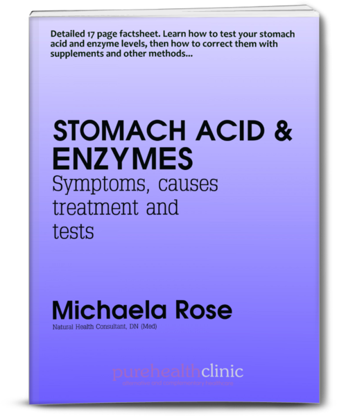 Stomach Acid & Enzymes Factsheet