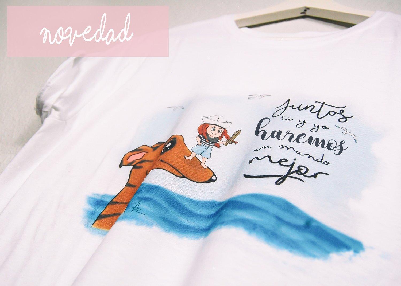 """Camiseta """"Juntos tú y yo haremos un mundo mejor"""""""