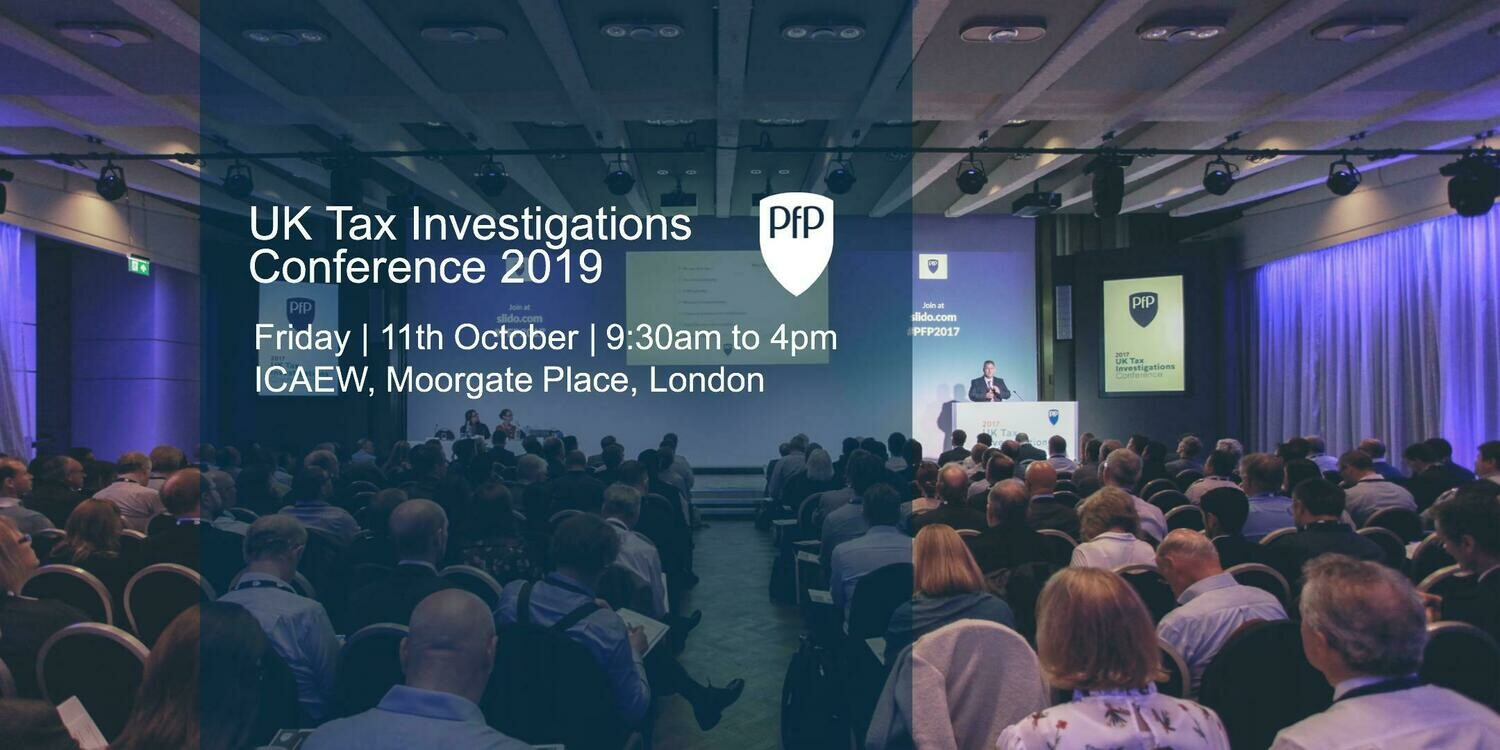 Tax Investigation Conference 2019