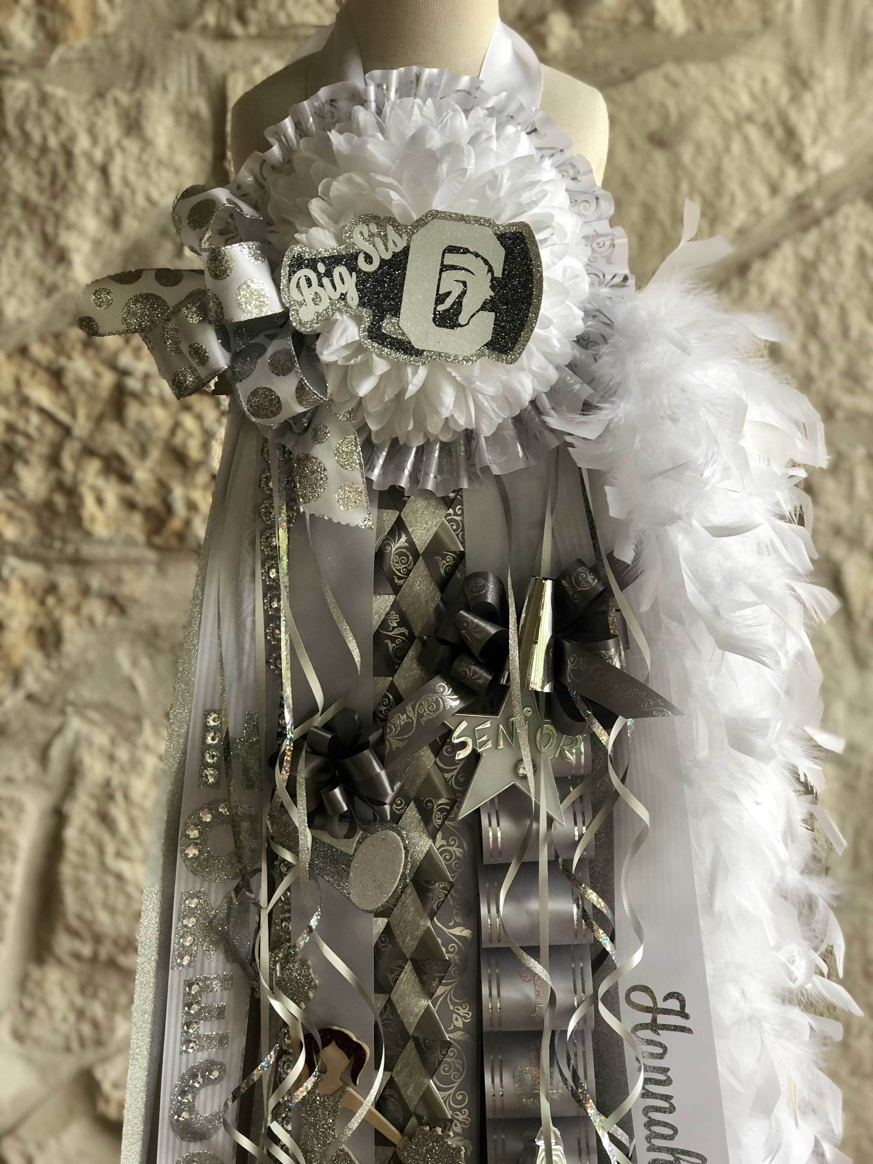 Charger Cheer Senior Big Sis Deluxe Homecoming Mum Store