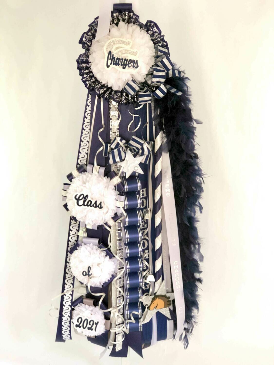 CASCADING Deluxe Homecoming Mum - Custom