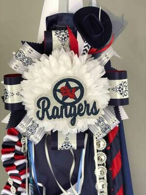 Smithson Valley HS Deluxe Cheer Homecoming Mum- READY MADE