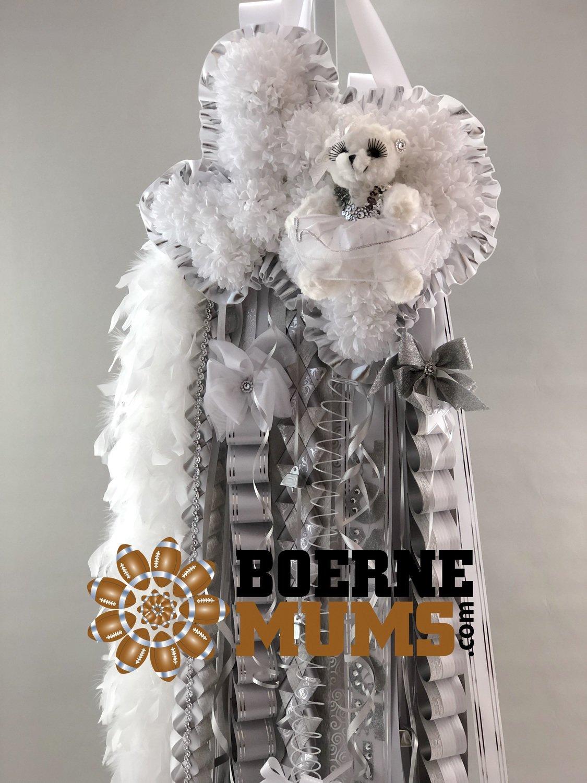 Texas Shaped Homecoming Mum Custom