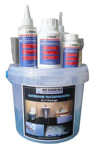 No Hacking Waterproofing DIY Set - S (Upgraded to 80sqft) DIY250ML