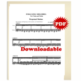 033 - PDF BUNDLE - Christmas Melodies: Double Stop Solos and Duets For  Violin, Volume I