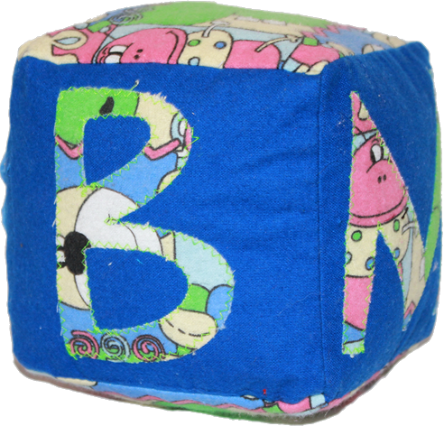 Blue Plush Blocks (Boy)