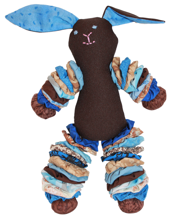 Brown Plush Bunnies (Boy)
