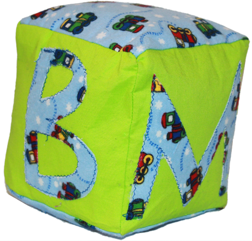 Green Plush Blocks (Boy)