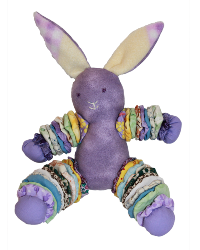 Purple Plush Bunnies (Girl)