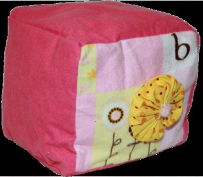Pink Plush Blocks (Girl)