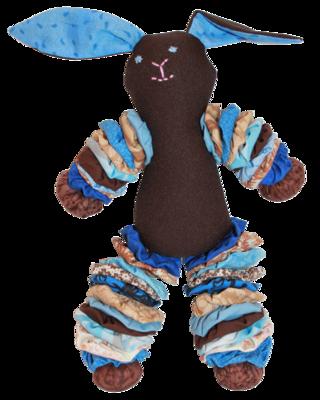 Brown Plush Bunnies (Boy)