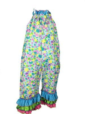 Bubbles Print Pants/Halter (girl)
