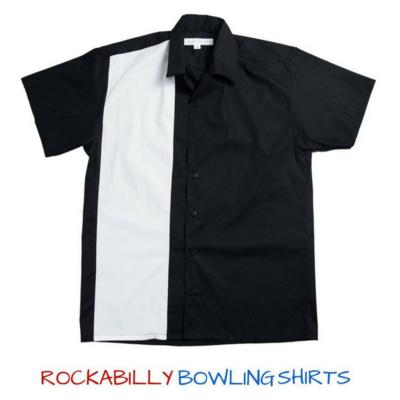 Modern style Rockabilly Bowling Shirt TIMOTHY gOJkv