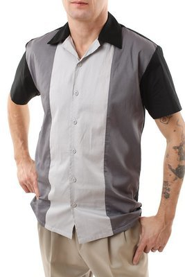 Three panel Rockabilly Bowling Shirt STEVEN