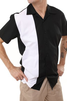 Men's Rockabilly Bowling Shirt DAVID