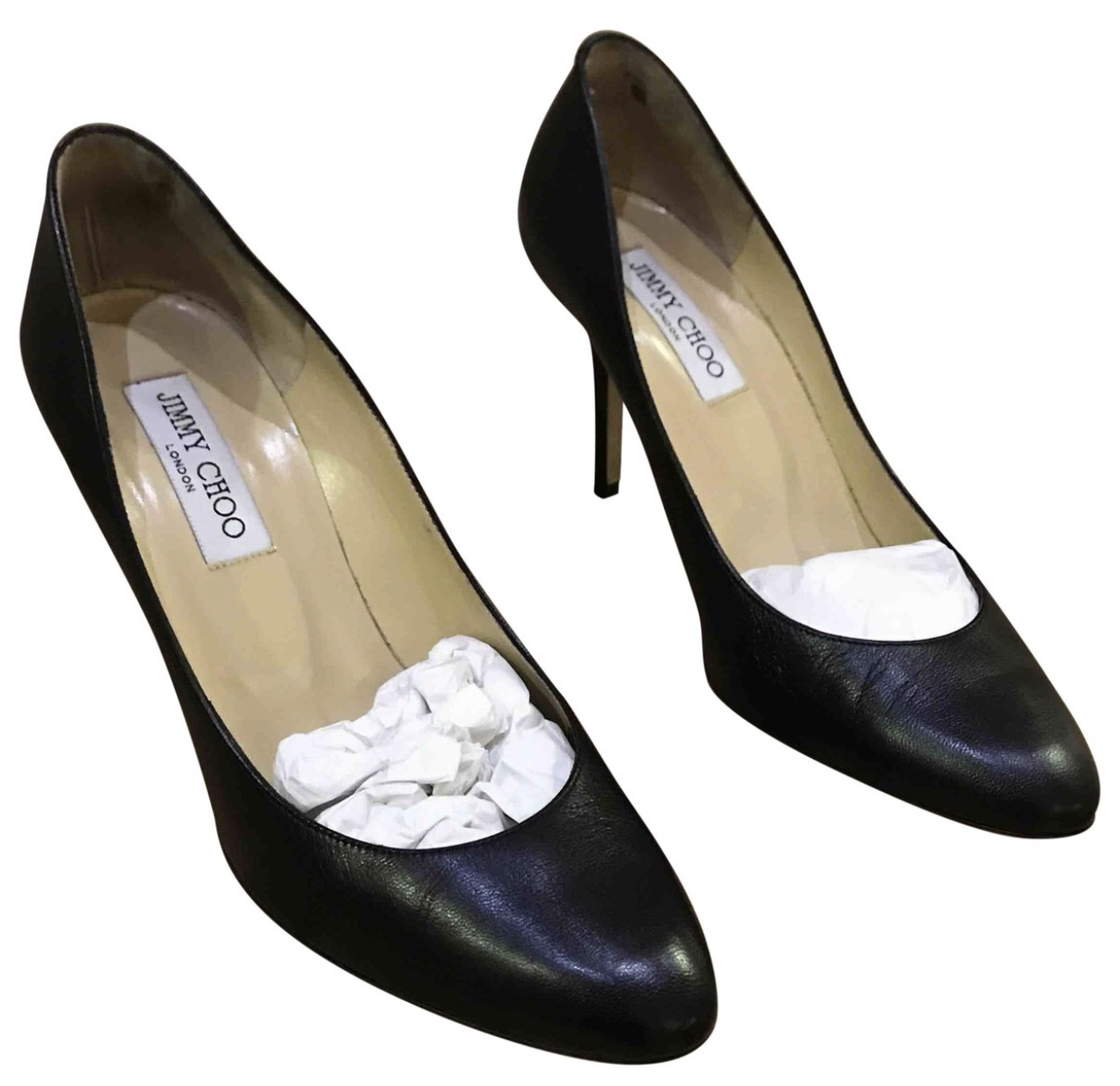 Authentic Jimmy Choo Highheel ( Preowned , Size 39 )
