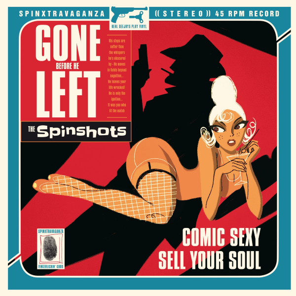 EP The Spinshots - Gone Before He Left 1005