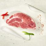 """Mangalitza  Nackensteak. Grillprofis sagen """"Das Mangalitza Steak ist das Beste Grillsteak vom Schwein, das es gibt"""""""