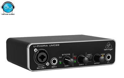 Interfaz de Audio USB Behringer UMC22