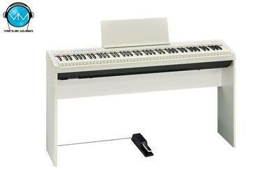 Piano Digital Roland FP-30 WH con Base y Pedalera