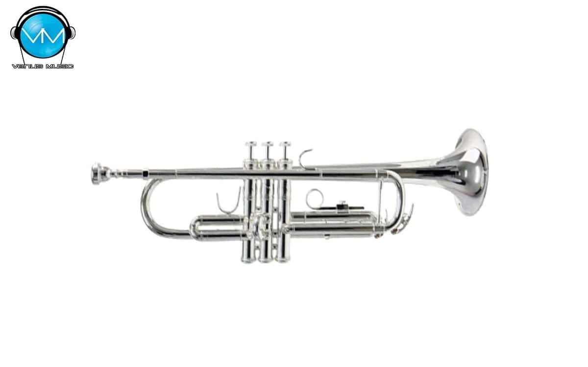 Trompeta Plateada SiB Klingt con Estuche FT-6418N