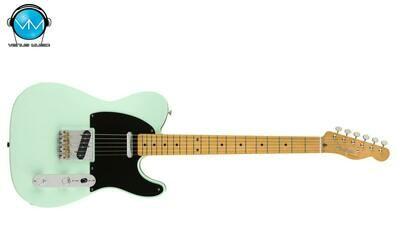 Guitarra Eléctrica Fender Vintera 50s Telecaster Modified Surf Green 0149862357 W/Bag