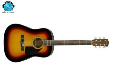 GUITARRA ACÚSTICA FENDER CD-60 DREAD V3 W/ CASE SUNBURST 0970110232